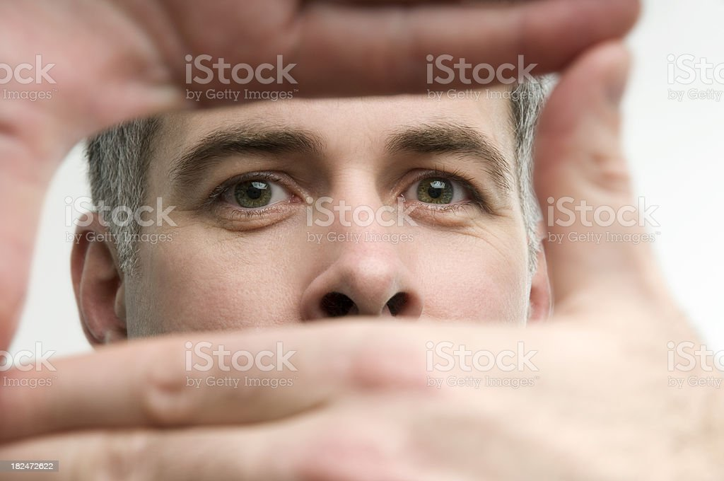 Focusing stock photo