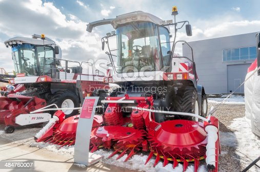 istock Fodder harvesting RSM 1401 combine 484760007