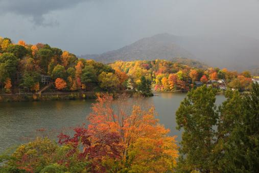 Lake Junaluska in the Mountains of North Carolina