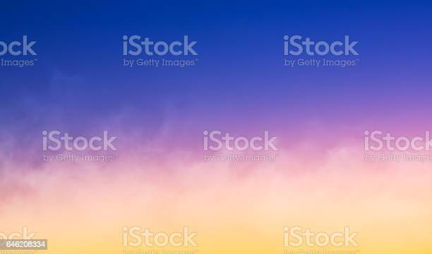 Photo of Fog at Sunset