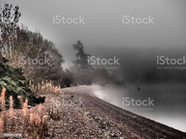 Fog at the edge of the loch ness with a strange silhouette is it picture id1096442918?b=1&k=6&m=1096442918&s=612x612&h=bu4d6o2mbf1a9futl14ecdqdrchfxm1ptqtpkqoress=