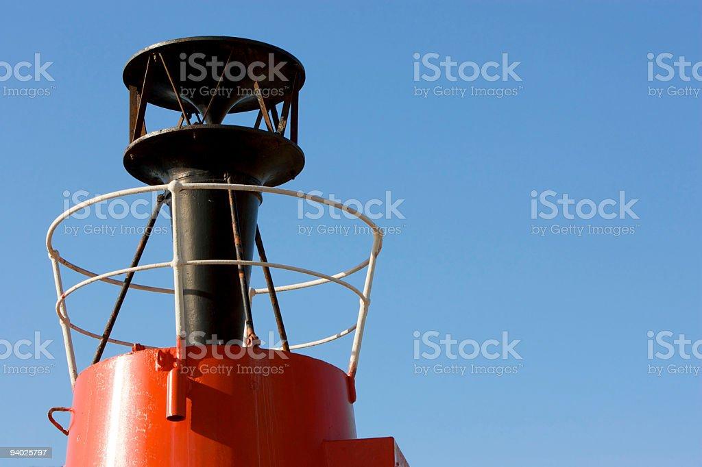 Fog Horn stock photo