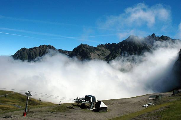 Nebel in Tourmalet – Foto