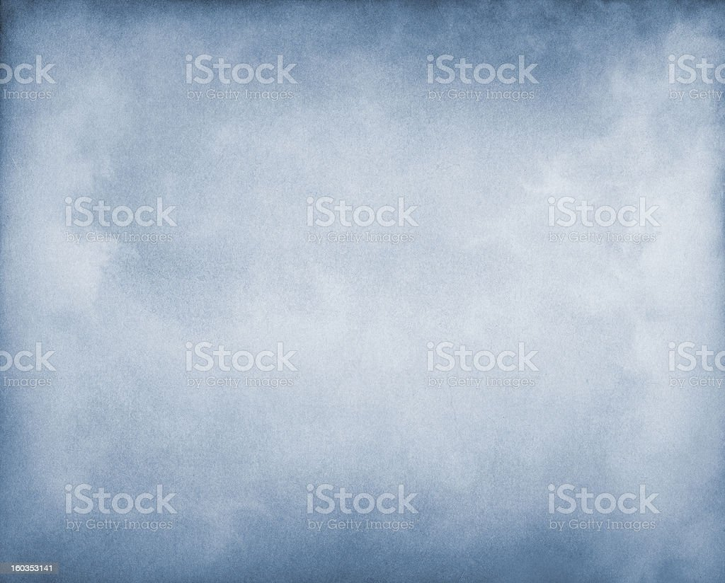 Fog on Blue stock photo