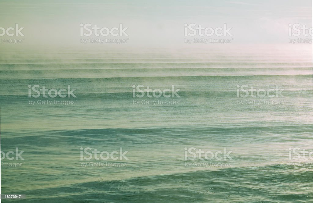 Fog On the Ocean royalty-free stock photo