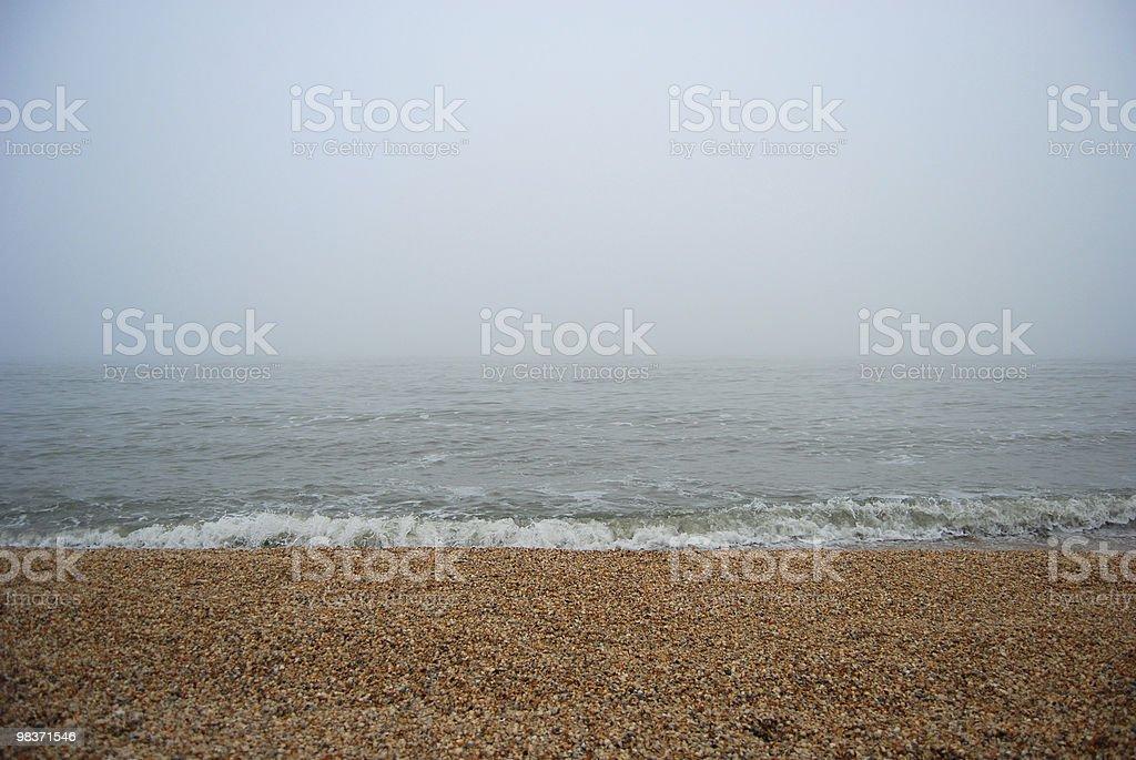 fog on the sea royalty-free stock photo