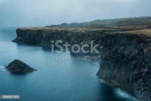 istock Foggy Coastline 638562304