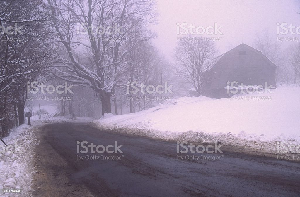 Foggy Morning royalty-free stock photo