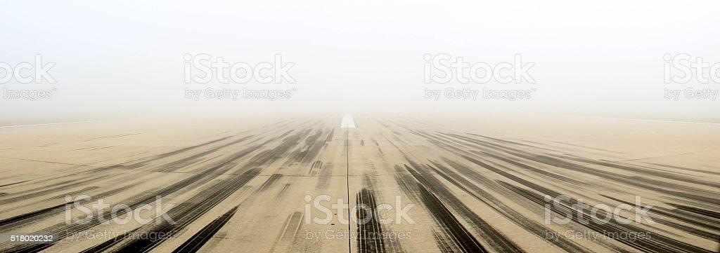 Nebbioso aperto sfilata - foto stock