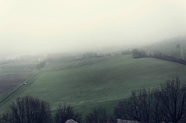 Foggy stock photo