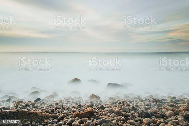 Photo of Foggy rocks