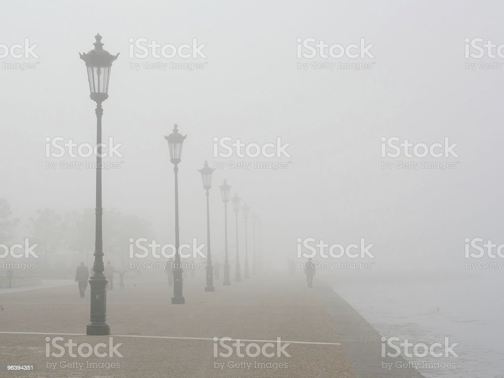 Foggy Seafront - Royalty-free Adult Stock Photo