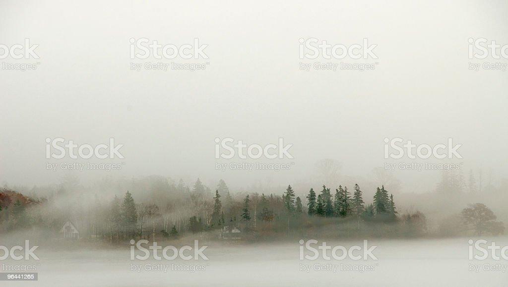 Foggy terra - Foto de stock de Exterior royalty-free