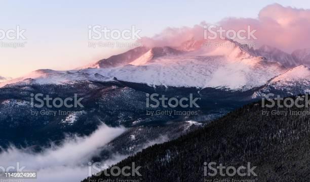 Photo of Foggy Sunrise in Colorado