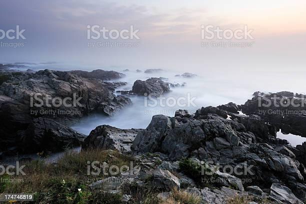 Photo of Foggy sunrise