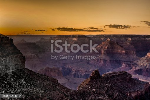 Sunset from the South Rim of Grand Canyon National Park (Arizona)