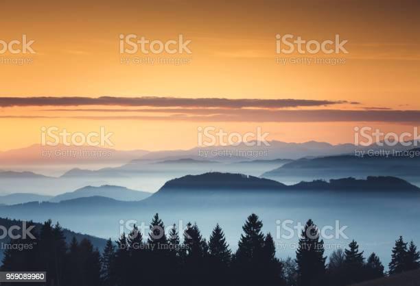 Photo of Foggy Sunset