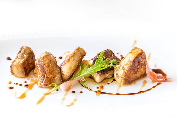 foie gras, grilled - foie gras photos et images de collection