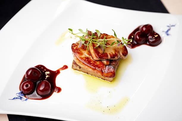 foie gras - gänsefett stock-fotos und bilder