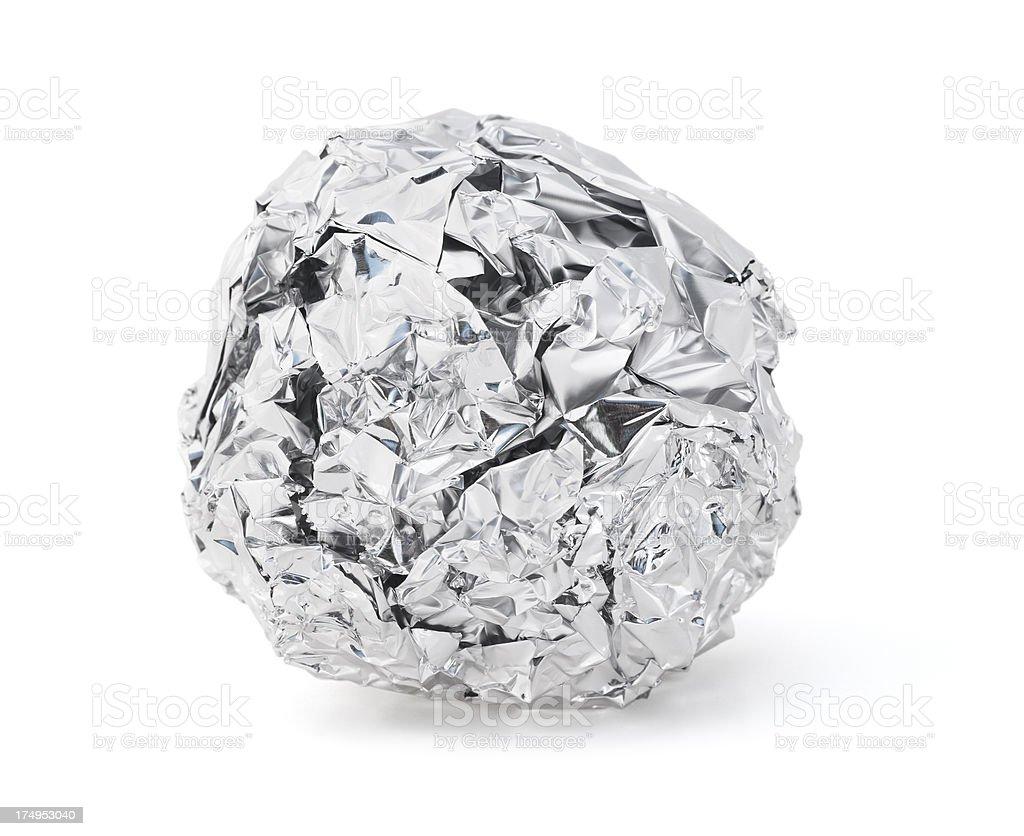 Foil Ball royalty-free stock photo
