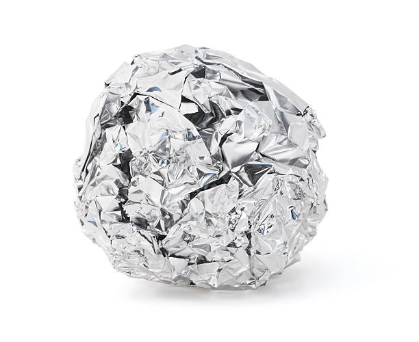 Foil Ball stock photo