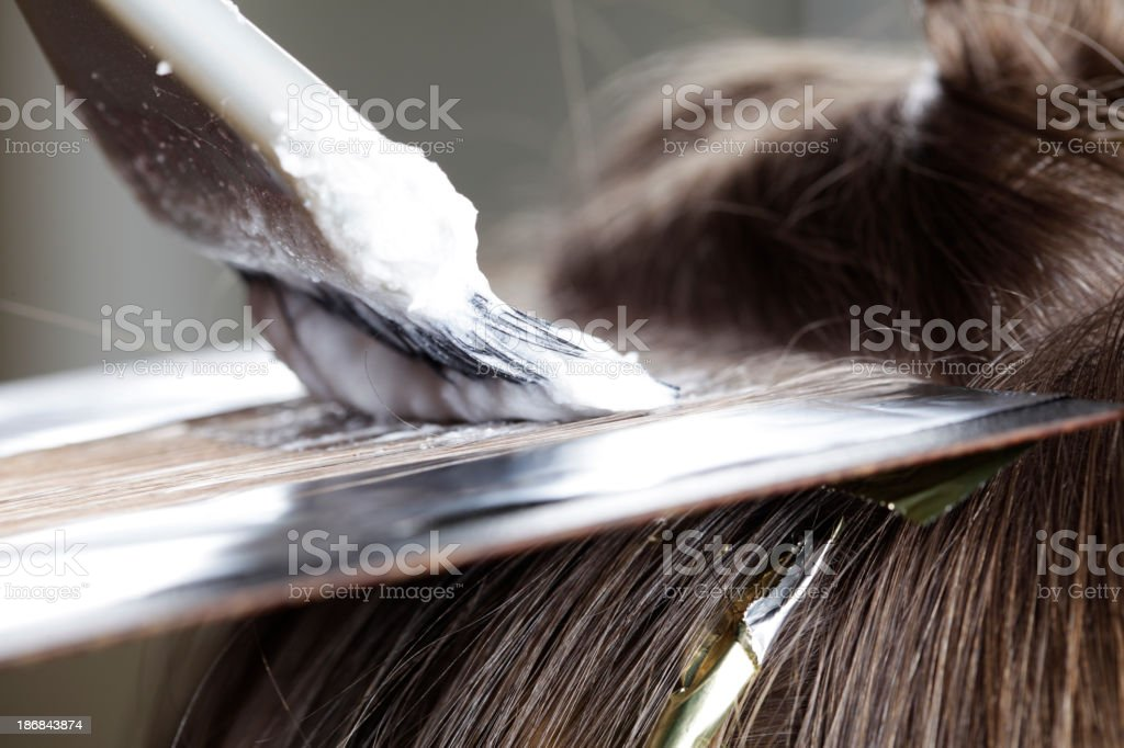 Foil Highlights stock photo