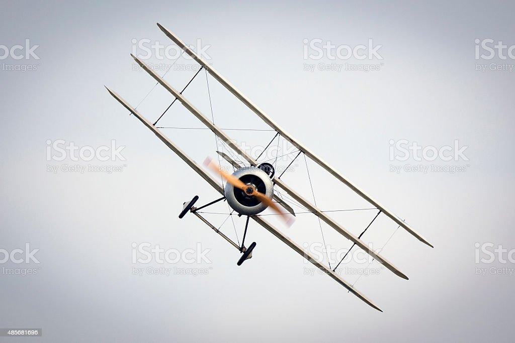 WWI Fokker Aircraft stock photo