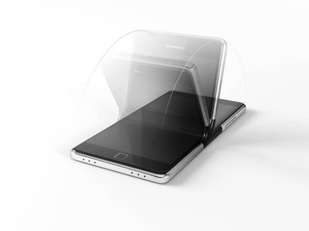 faltbare smartphone - zusammenklappbar stock-fotos und bilder