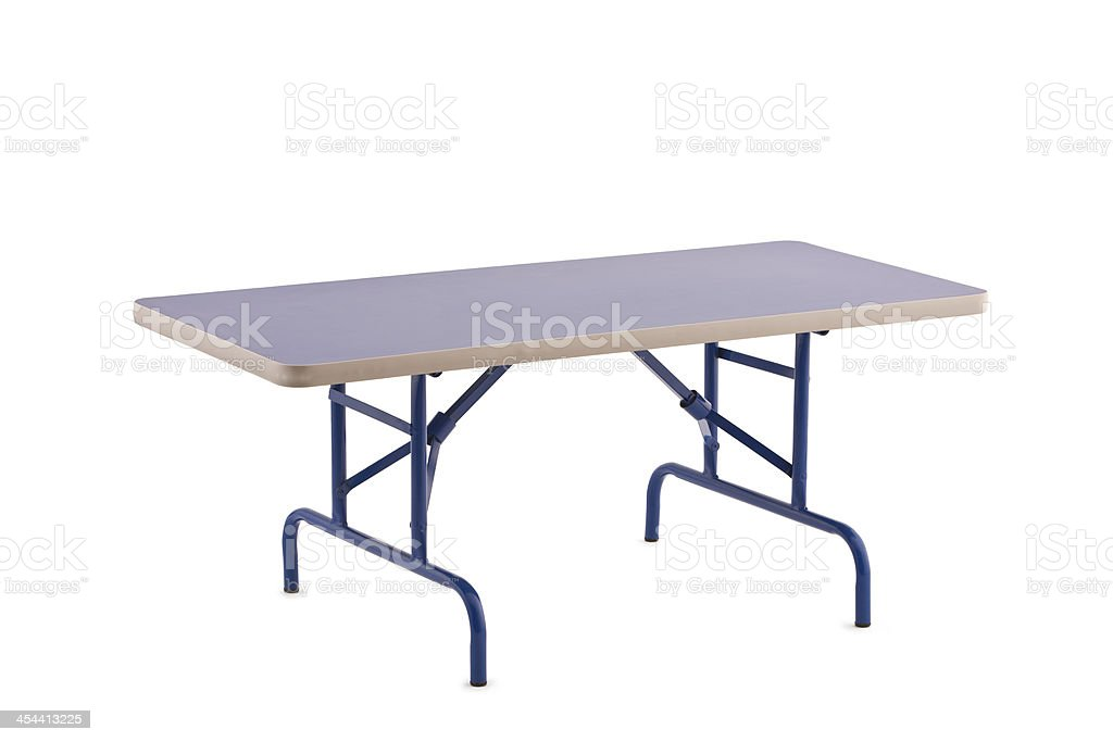 Foldable Table stock photo