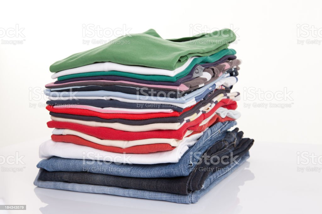 royalty free folded clothes pictures images and stock