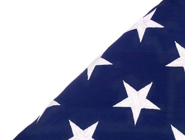 gefaltet flagge usa - klapprahmen stock-fotos und bilder