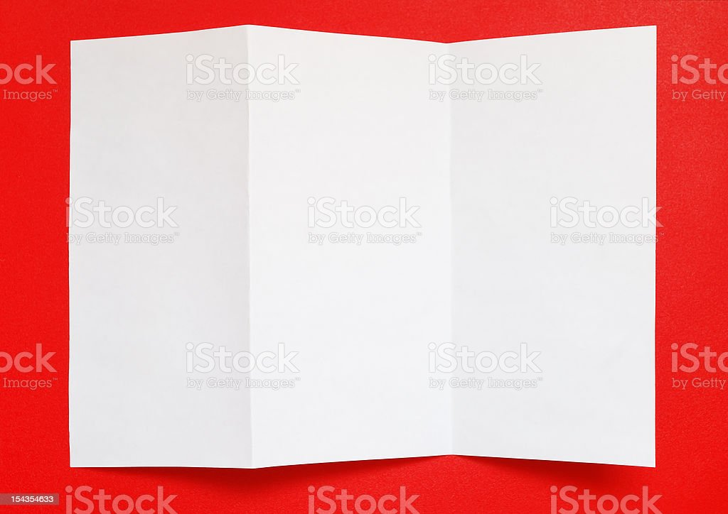 Folded paper royalty-free stock photo