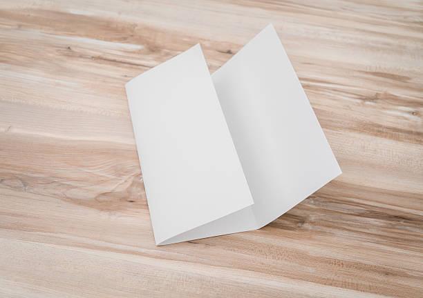 Gefaltete Papier – Foto