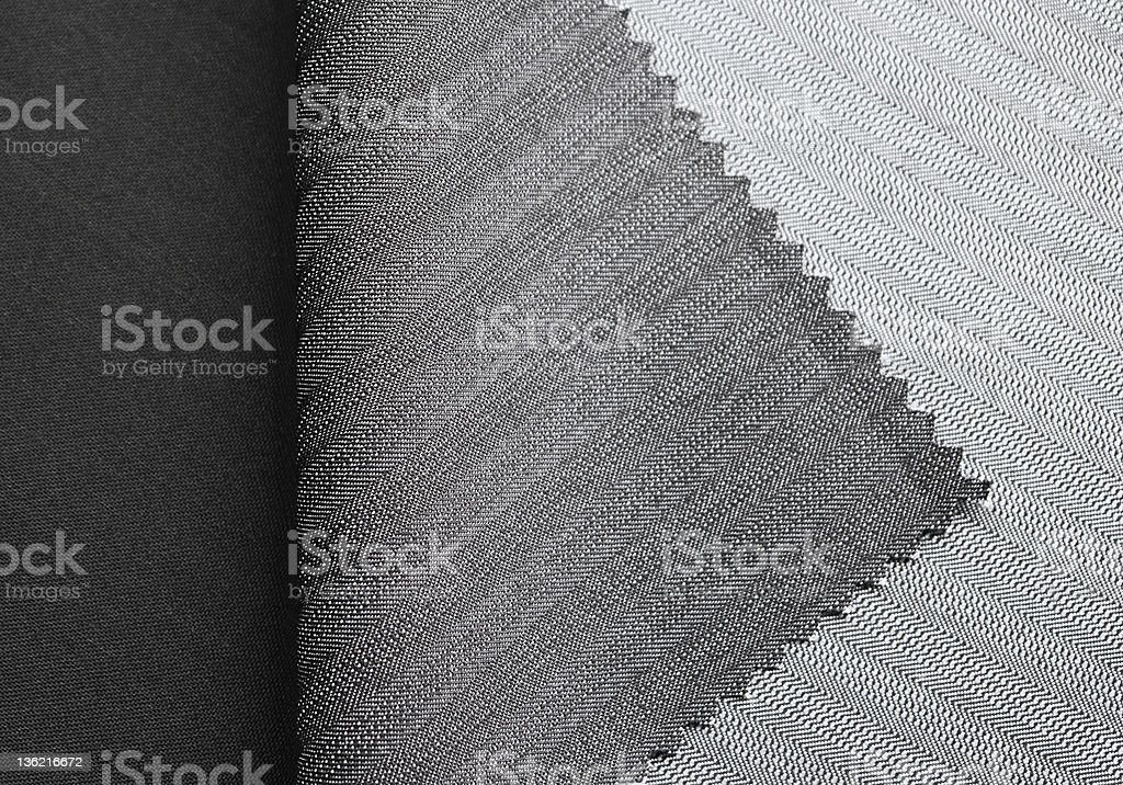 Folded polyester samples background royalty-free stock photo