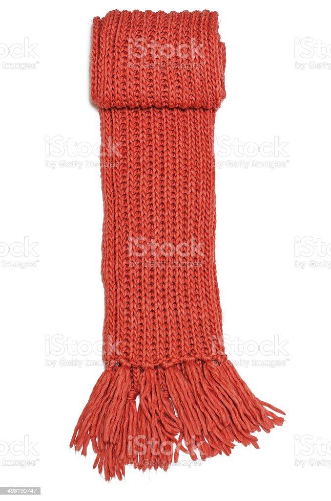 Lana trapo rojo - foto de stock