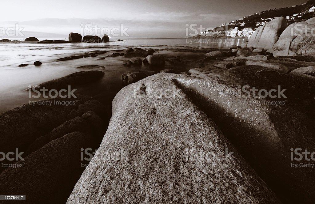 Folded Rock royalty-free stock photo