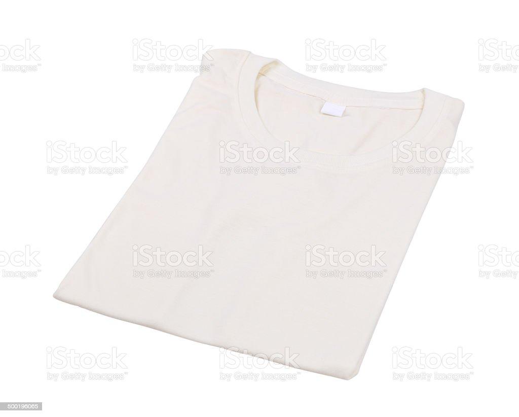 folded t-shirt isolated stock photo