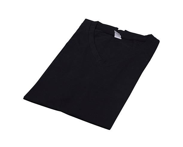 Gefaltet t-shirt Isoliert – Foto