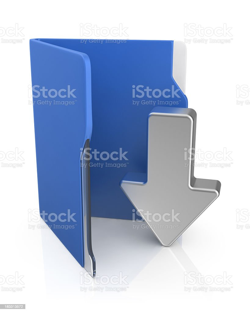 Folder Icon - Download royalty-free stock photo