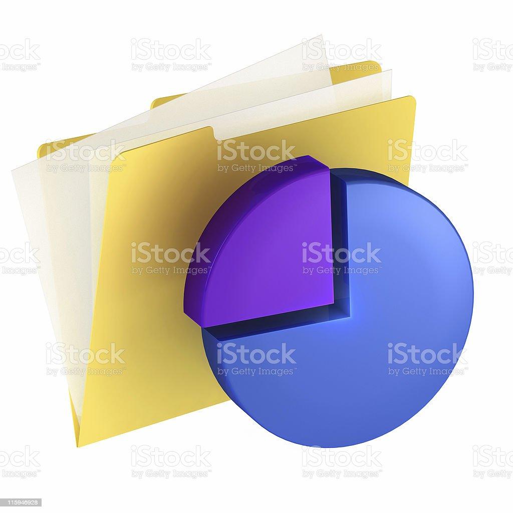 Folder Icon royalty-free stock photo