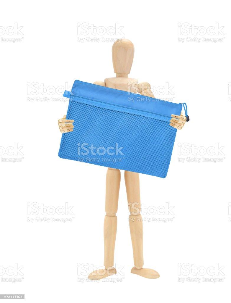 Folder Mannequin stock photo