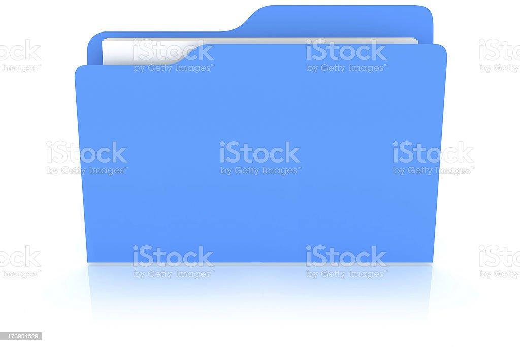 Folder stock photo