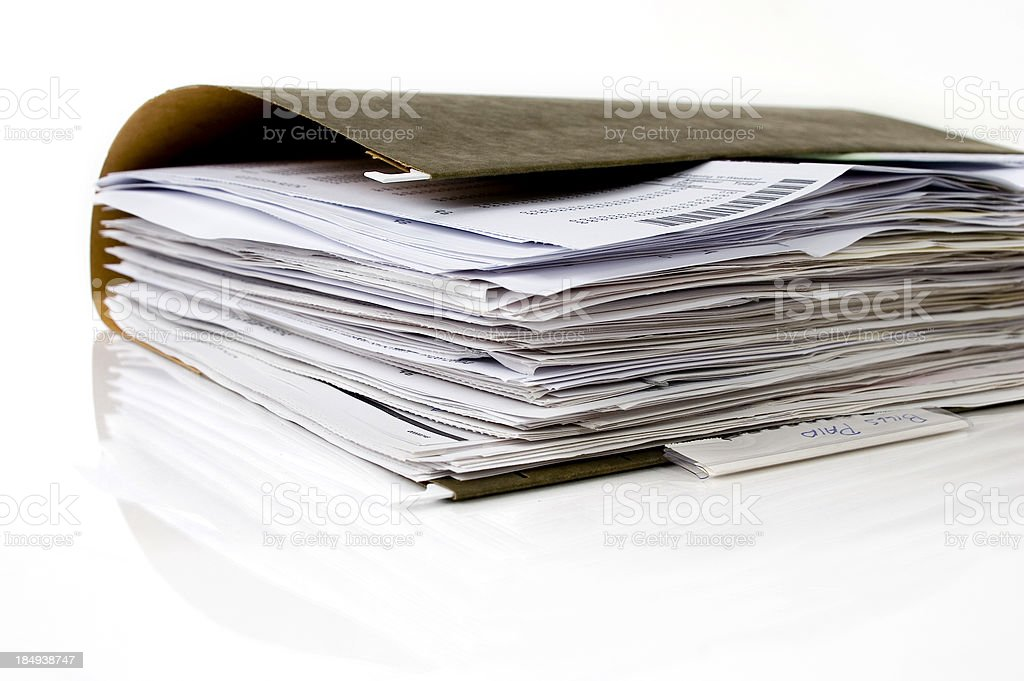Folder royalty-free stock photo