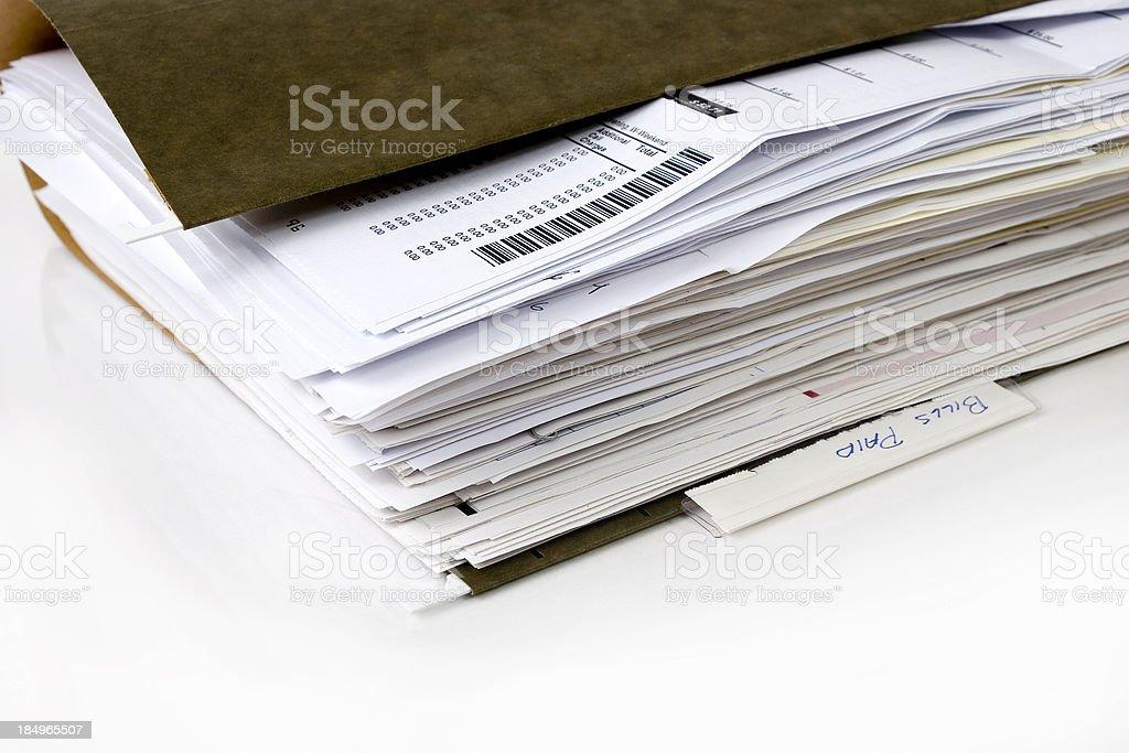 Folder royalty-free stock photo