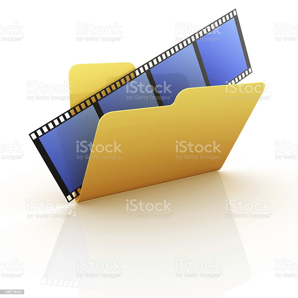 Folder Series stock photo