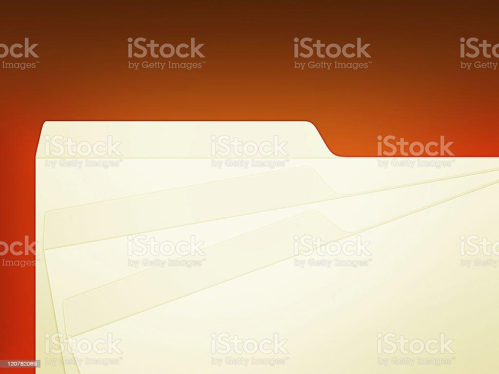 Folder tags royalty-free stock photo