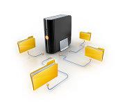 istock Folders and Files Backup 183304560