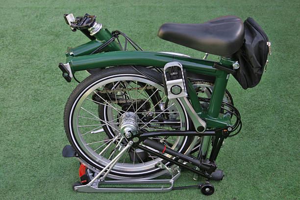 Folding bike  foldable stock pictures, royalty-free photos & images