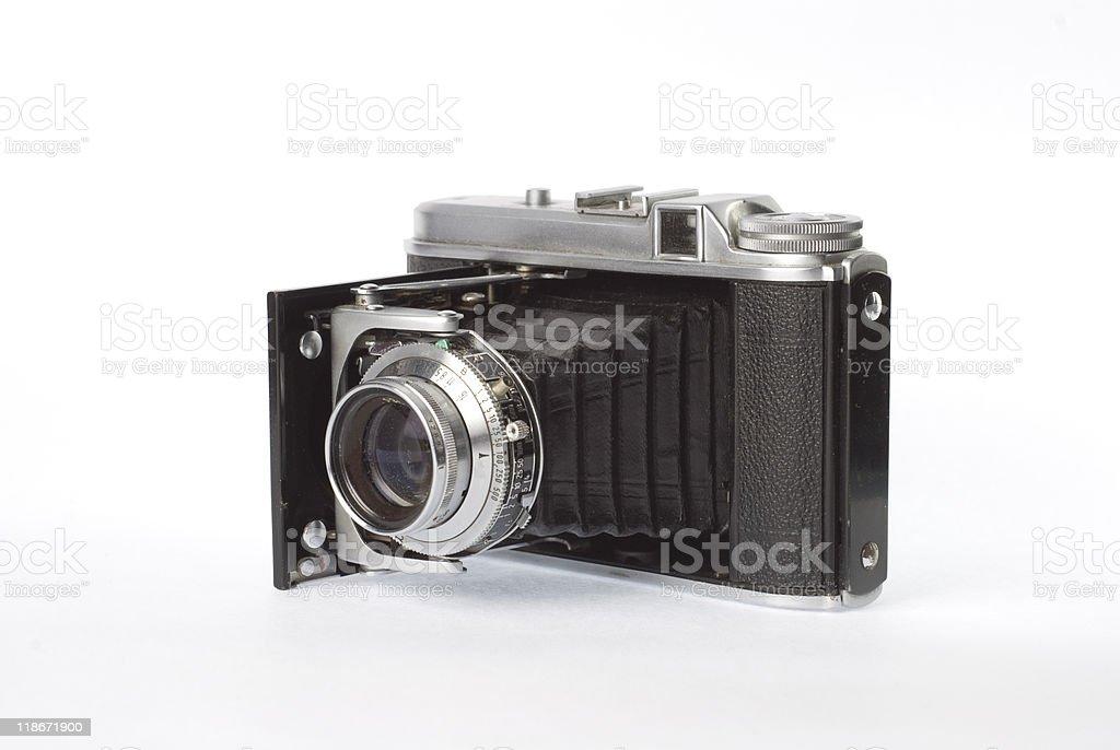 Folding Camera stock photo