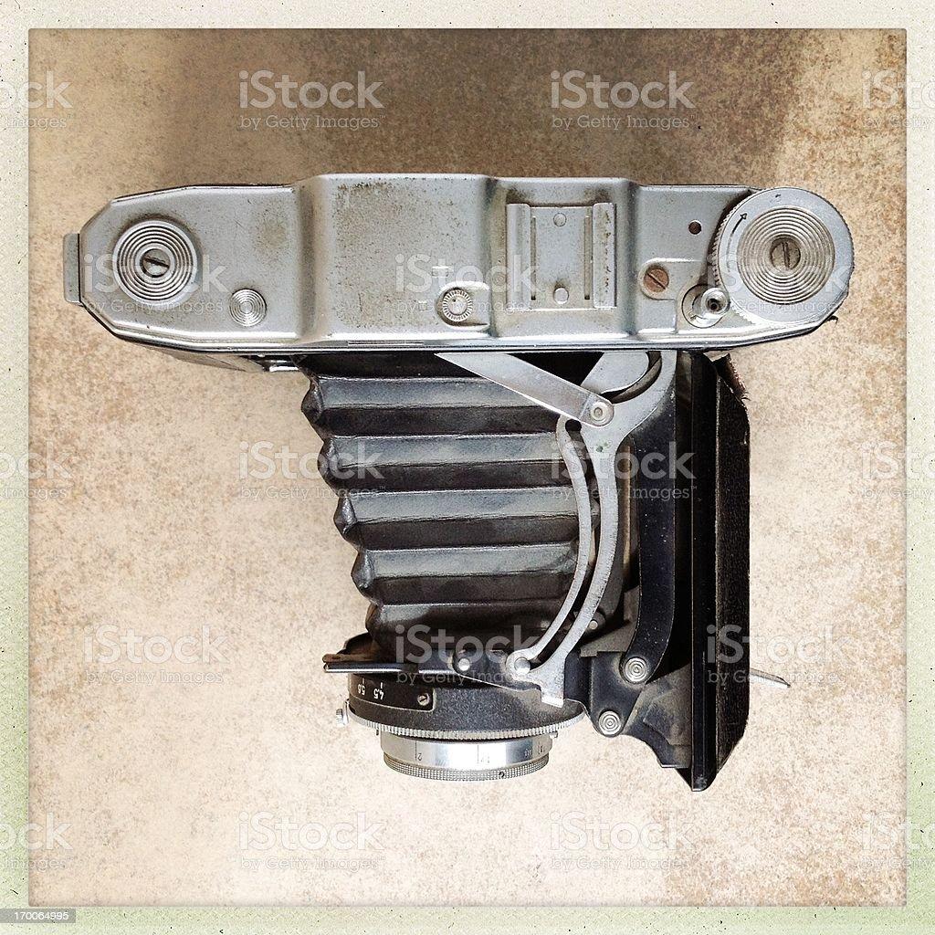 folding camera royalty-free stock photo
